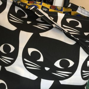 Pussycat Tote Bag with GSW Cotton Lining