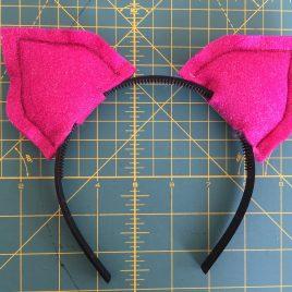 Pussycat Ears Headband
