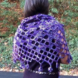 Purple Power Shawl