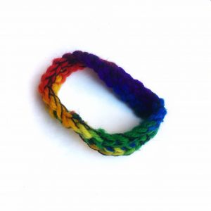 Rainbow Möbius Band