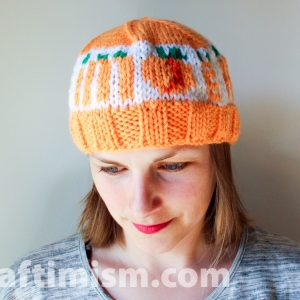 ImPEACH knit hat (made to order, allow 3-4 weeks to make)