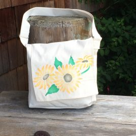 Sunflower festival bag