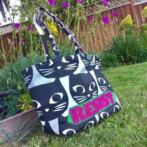 Custom Resist Tote Bag