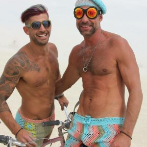 Burning Man Hot Pants