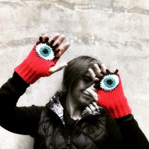 Custom Evil Eye Gloves