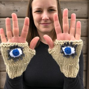 Cotton Evil Eye Gloves