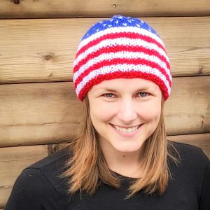 Patriotic Beanie – made to order