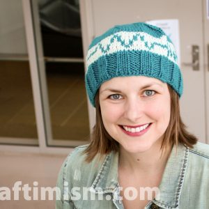 Resistor knit hat (made to order, allow 3-4 weeks to make)