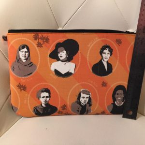 Notable women clutch purse