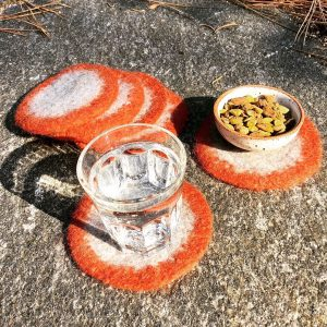 Round Felted Coasters