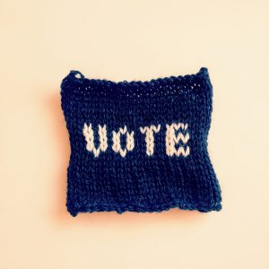 VOTE handmade patch